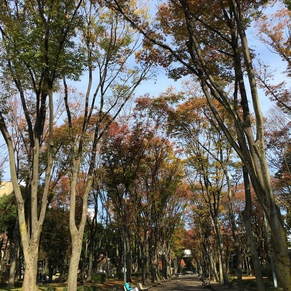 Photo taken at リバーパーク by Hiroaki N. on 11/29/2015