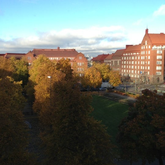 Photo taken at Kauppakorkeakoulu by Reetta S. on 10/23/2012