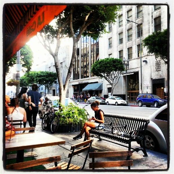 Photo taken at LA Café by Photo L. on 9/16/2012