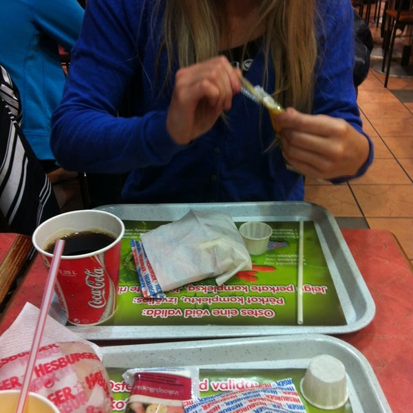 Photo taken at Hesburger Alfa by Krista S. on 3/21/2013