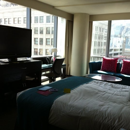 Photo taken at theWit Chicago - A DoubleTree by Hilton Hotel by Briana C. on 9/5/2011