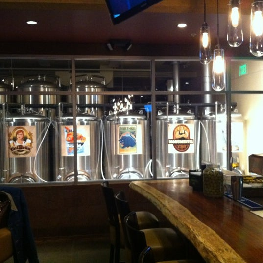 Photo taken at Colorado Mountain Brewery by Victor L. on 2/27/2012