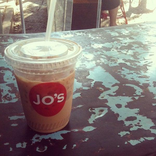 Photo taken at Jo's Coffee by Dan M. on 10/26/2011