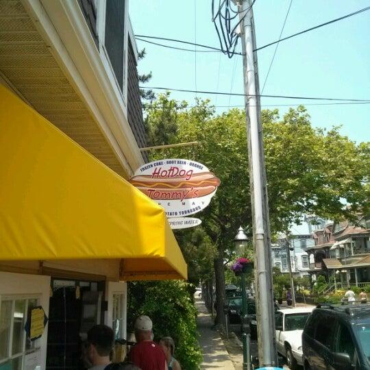 Photo taken at Hotdog Tommy's by Jenn C. on 6/22/2012