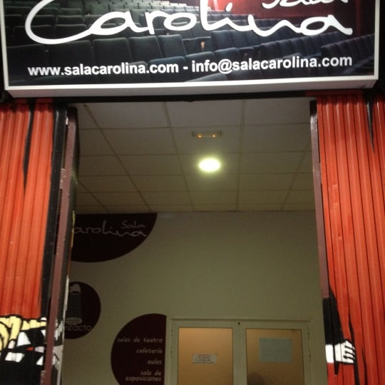 Photo taken at Sala Carolina by Marco B. on 4/13/2012