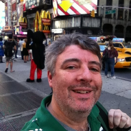 """Photo taken at Max Neuhaus """"Times Square"""" by Kevin R. on 8/16/2012"""