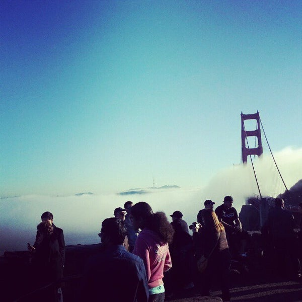 Photo taken at Vista Point by Andy S. on 11/25/2012
