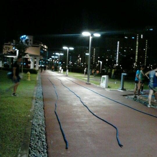 Photo taken at Bonifacio High Playground by Xian M. on 10/30/2012