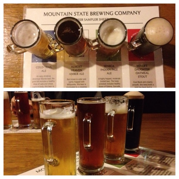 Photo taken at Mountain State Brewing Co. by Katie R. on 9/25/2013