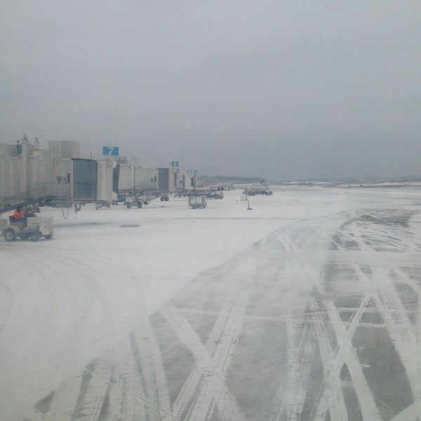 Photo taken at Portland International Jetport (PWM) by Patrick H. on 3/5/2014