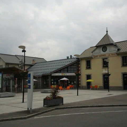 Gare sncf de saint gervais les bains le fayet 1 tip - Office de tourisme de saint gervais les bains ...