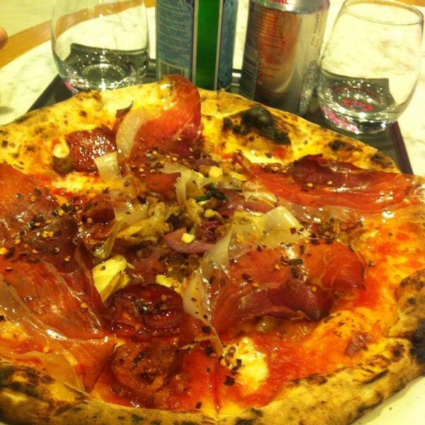 Photo taken at Franco Manca by Alis M. on 6/6/2013