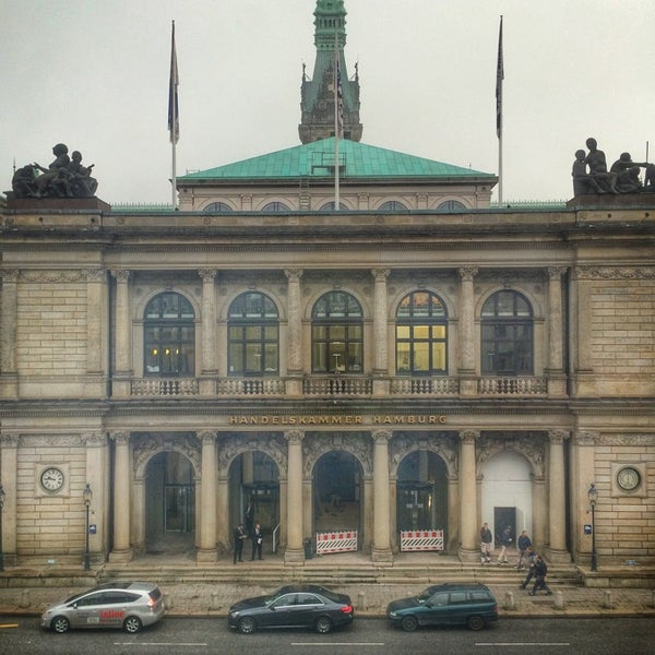Photo taken at Handelskammer Hamburg by Stephan B. on 12/5/2014