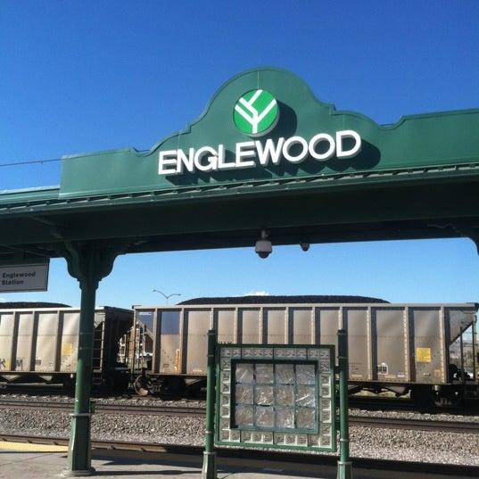 Light Rail Station In Englewood