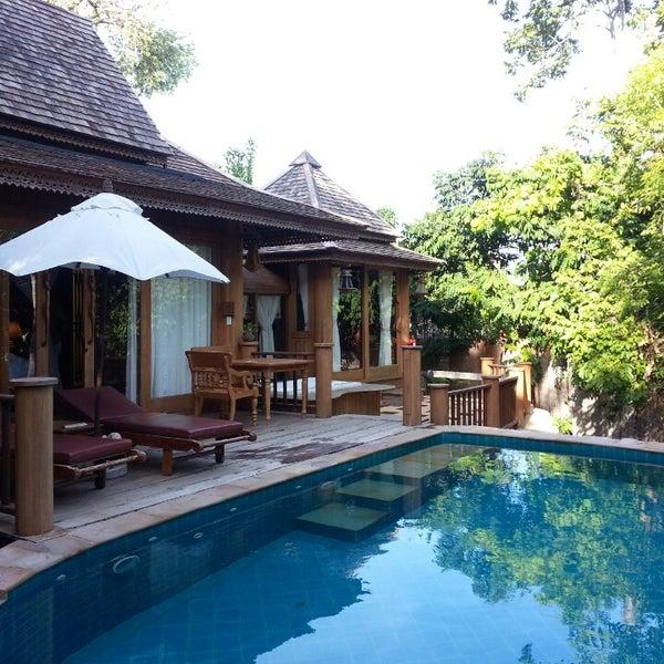 Photo taken at Santhiya Resort And Spa Koh Phangan by Alexandra D. on 5/15/2014