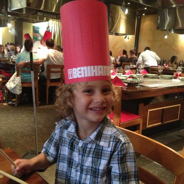 Photo taken at Benihana by Lauren W. on 6/23/2013