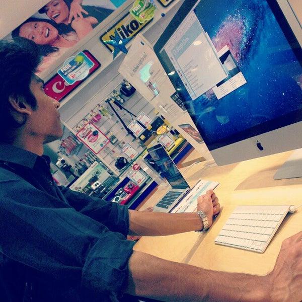 Photo taken at Inorbit Mall by Abhisek D. on 12/27/2012