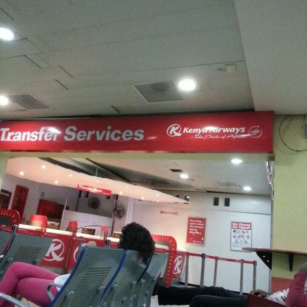 Photo taken at Jomo Kenyatta International Airport (NBO) by Serges B. on 3/31/2013