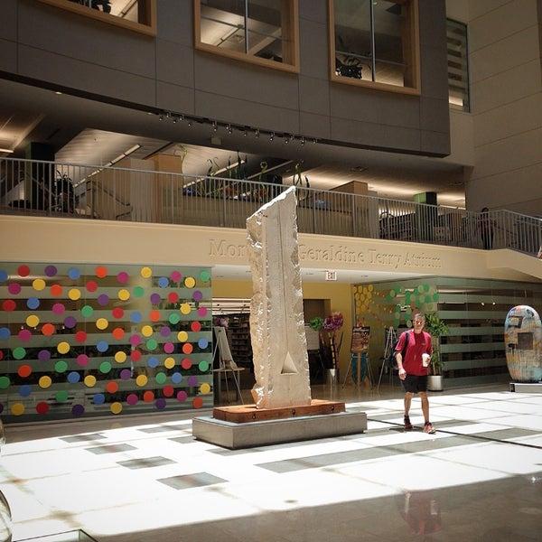 Photo taken at NSU: Alvin Sherman Library by 😼Ellen S. on 6/11/2014