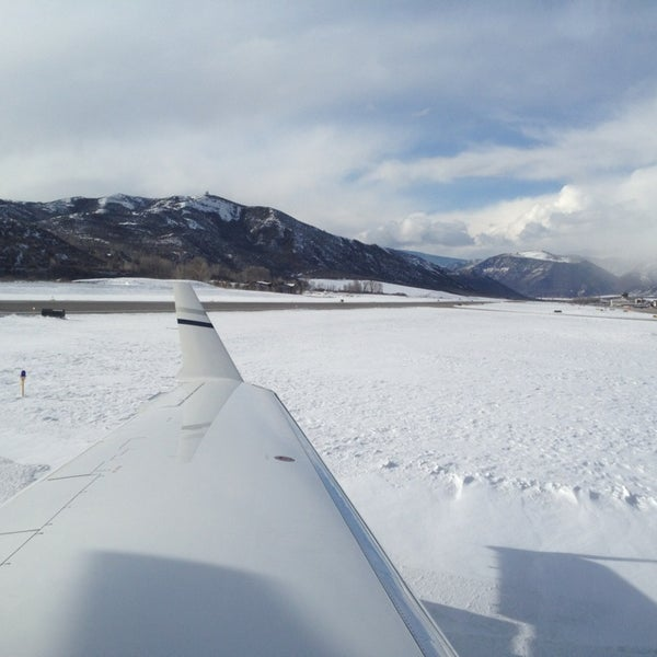 Photo taken at Aspen/Pitkin County Airport (ASE) by Fede H. on 3/24/2013