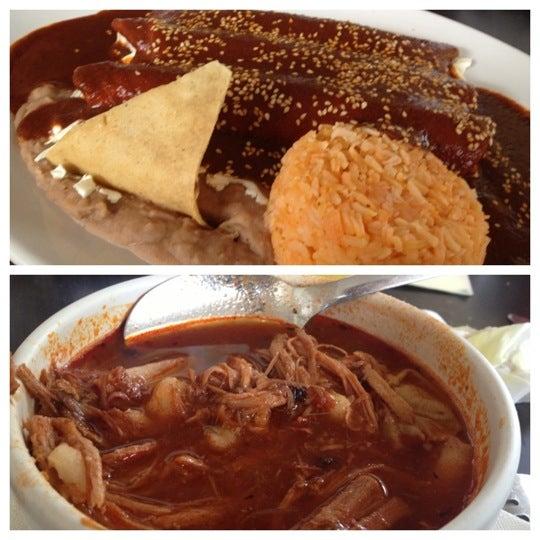 Photo taken at Pozole y Tacos Regios by Juan Carlos A. on 12/6/2012