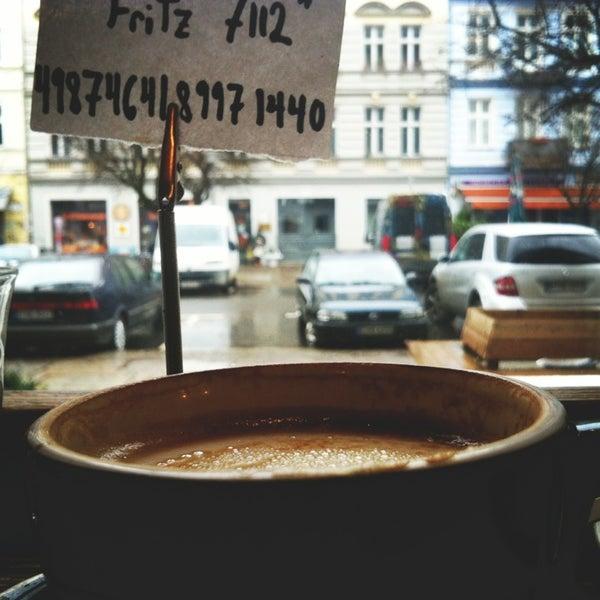 Photo taken at Bonanza Coffee Heroes by Alek D. on 1/10/2013
