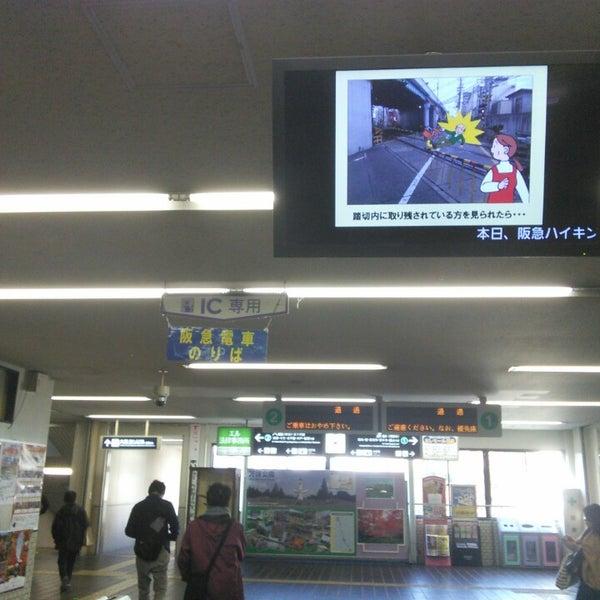 Photo taken at 阪急 南茨木駅 (Minami-ibaraki Sta.) (HK-68) by koryu m. on 11/15/2014