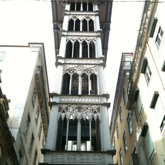 Photo taken at Elevador de Santa Justa by Michal M. on 11/21/2012