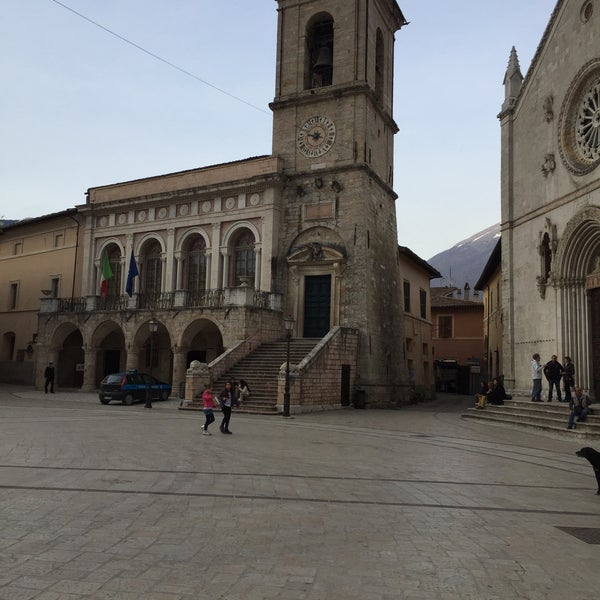 Photo taken at Norcia by Jens V. on 4/14/2015