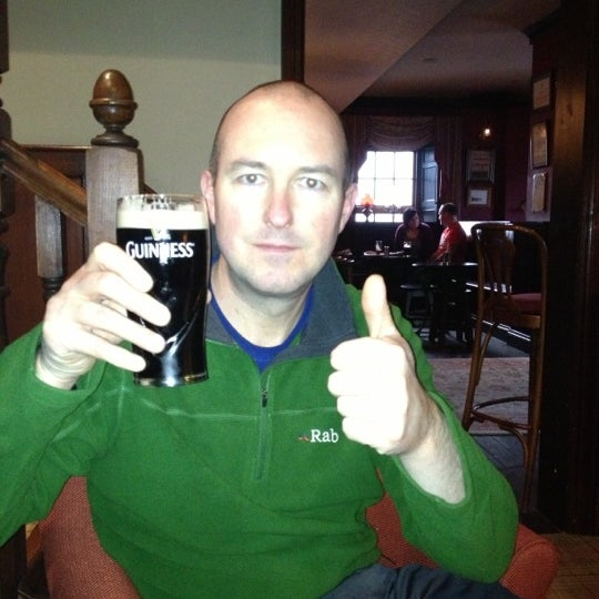 Photo taken at The Bushmills Inn by Gary J. on 11/4/2012