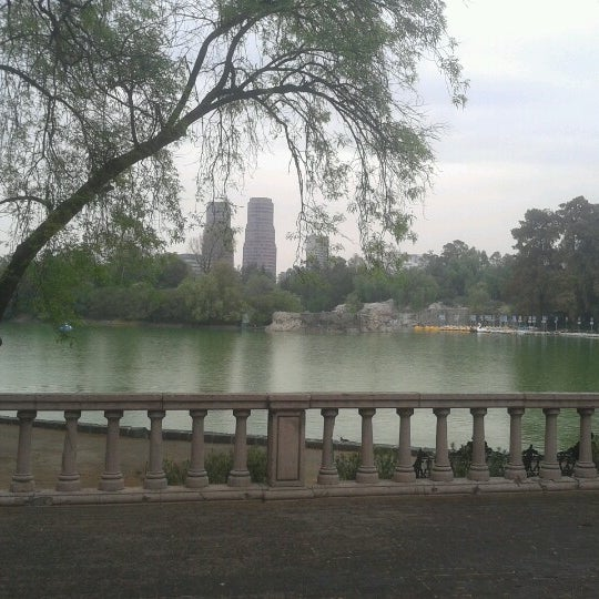 Photo taken at Bosque de Chapultepec by Manuel O. on 1/22/2013