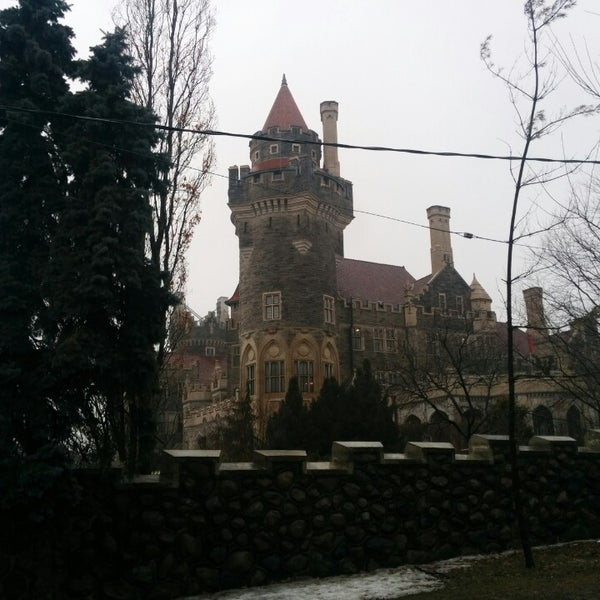 Photo taken at Casa Loma by Mayela V. on 4/4/2014