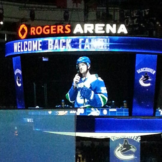 Photo taken at Rogers Arena by @gracecheung604 on 1/20/2013