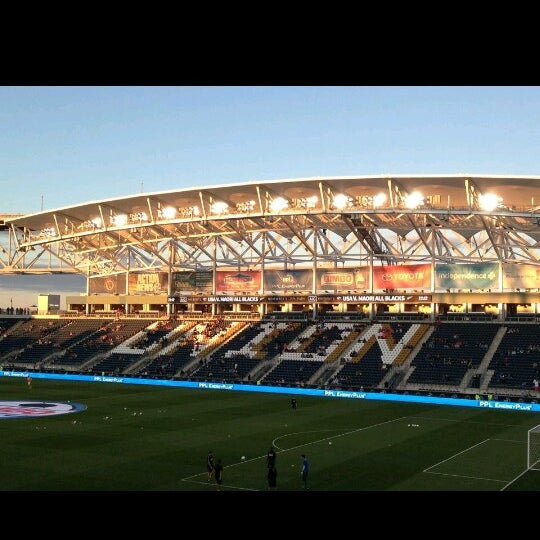 Photo taken at PPL Park by Man_Used👽👾👽 on 9/15/2013