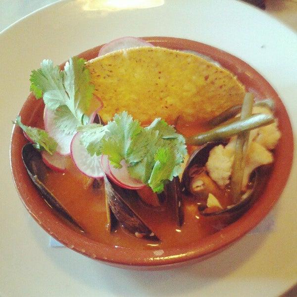 Photo taken at Lula Café by Pete N. on 9/22/2012