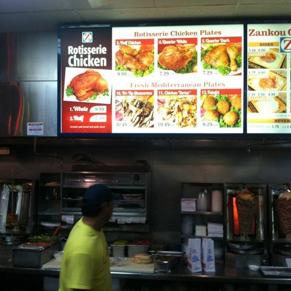 Photo taken at Zankou Chicken by Martin A. on 3/29/2013