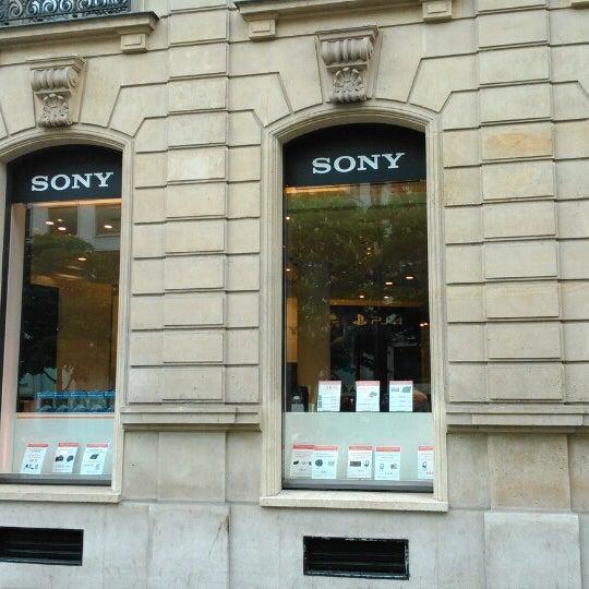 sony store ferm maintenant magasin d 39 lectronique paris. Black Bedroom Furniture Sets. Home Design Ideas