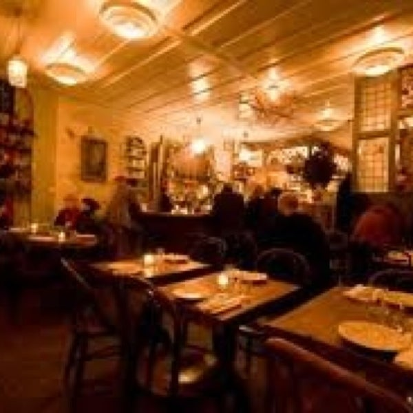 Photo taken at Vinegar Hill House by N D. on 1/23/2013
