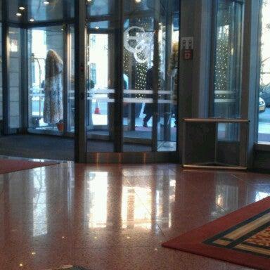 Photo taken at Kempinski Hotel Corvinus Budapest by Scott O. on 12/13/2012