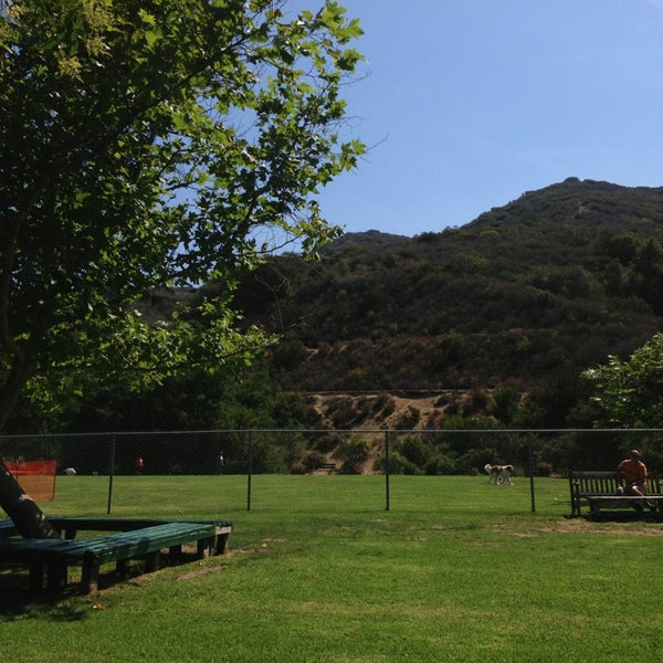 Photo taken at Laguna Canyon Dog Park by Ken K. on 7/25/2013