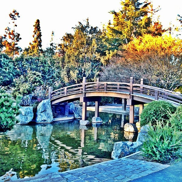 Photo taken at Japanese Friendship Garden by Ernie L. on 1/15/2013