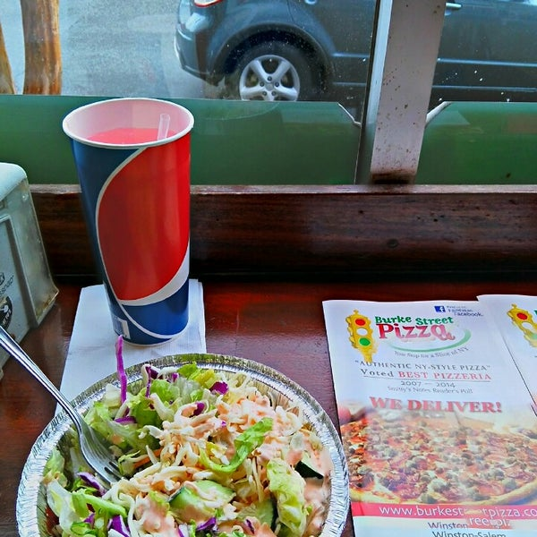 Photo taken at Burke Street Pizza by Ibrahim T. on 3/1/2015