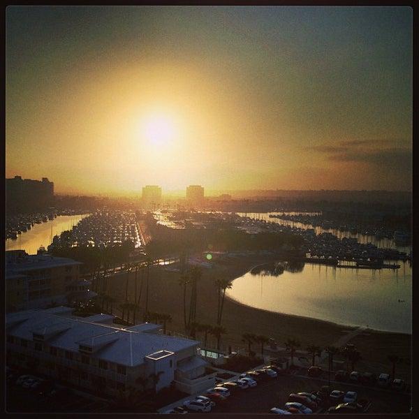 Photo taken at Marriott Marina Del Rey by Scott E. on 3/22/2013