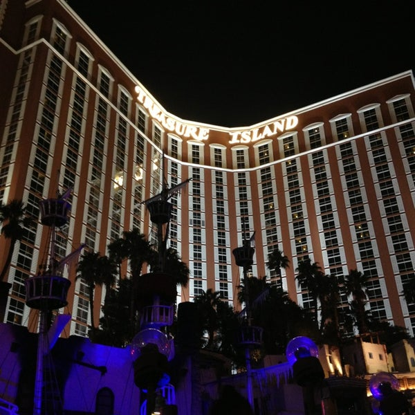 Photo taken at Treasure Island - TI Hotel & Casino by Tarang G. on 3/16/2013