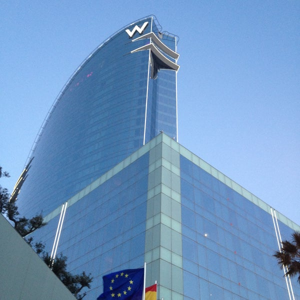 Photo taken at W Barcelona by Jesus G. on 5/2/2013