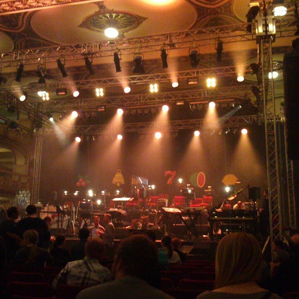 Photo taken at Palác Lucerna by Martin K. on 10/3/2013