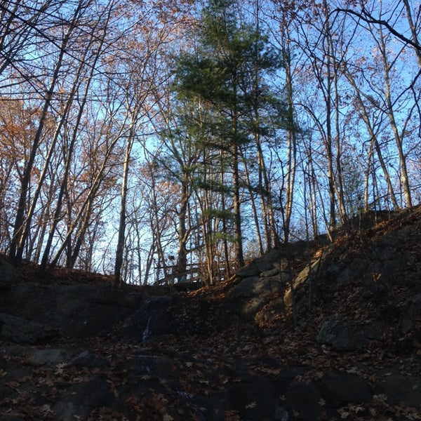 Photo taken at Jewell Falls by Kenneth M. on 11/16/2013