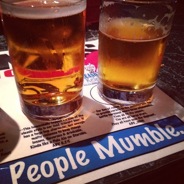 Photo taken at Lagunitas Brewing Company by Nick K. on 3/2/2014
