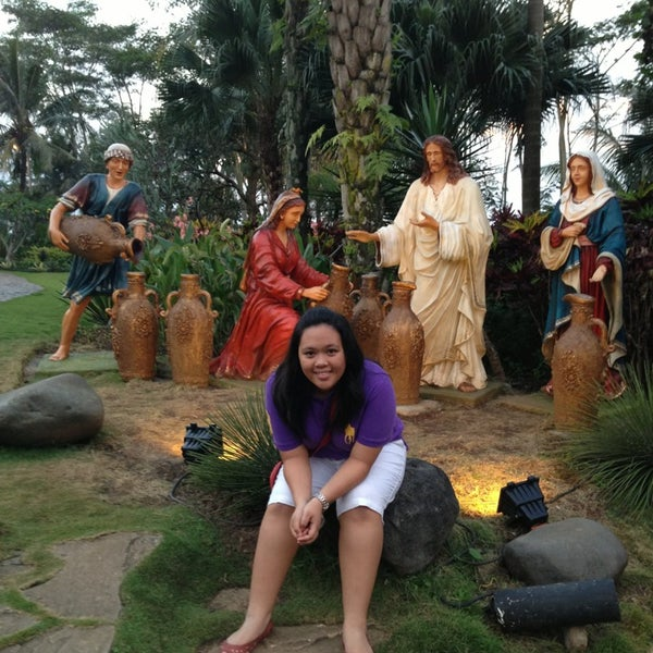 Photo taken at Gua Maria Kerep by Arnold W. on 5/29/2013