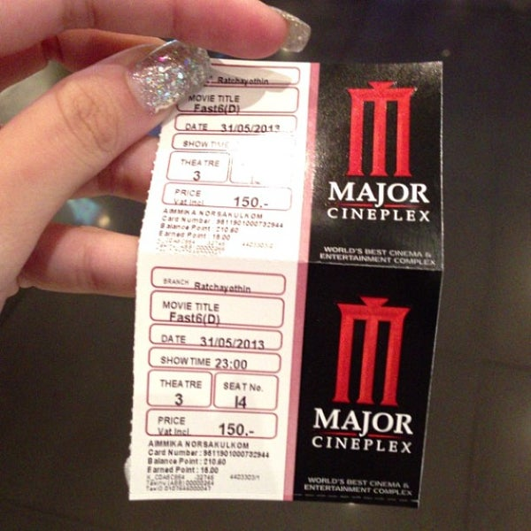Photo taken at Major Cineplex Ratchayothin by Aimmika N. on 5/31/2013
